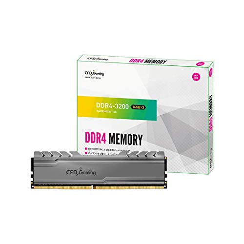 CFD販売 デスクトップPC用ゲーミングメモリ CX1シリーズ Intel XMP2.0 サポート PC4-25600(DDR4-3200) 16GB...