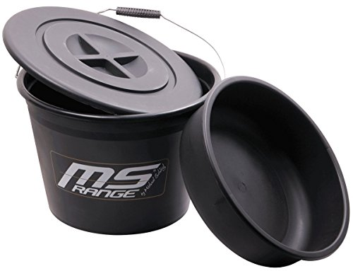 MS Range Bait Bucket - Futtereimer 25 Liter inclusive Einsatz und Deckel