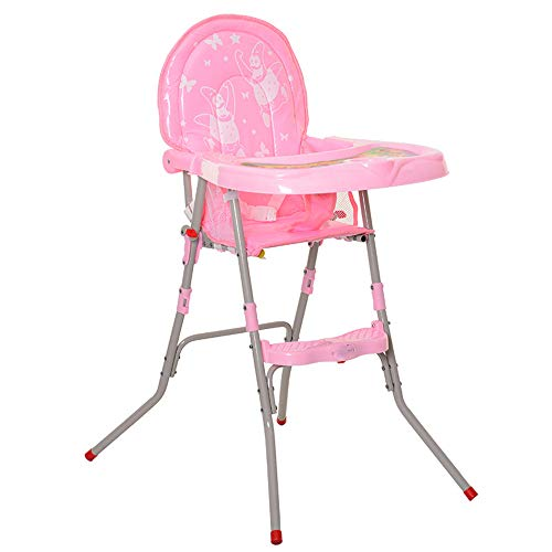 Affordable AiKuJia-MA High Chair Foldable Children's Dining Chairs Child Seat Easy to Carry (Color :...