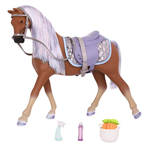 """Glitter Girls GG58006C1Z by Battat – Celestial 14"""" Morgan Horse - 14 inch Doll Accessories and Clothes for Girls Age 3 and Up – Children's Toys"""