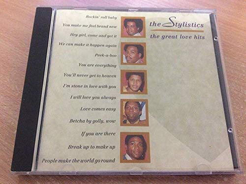 The Stylistics - Greatest Love Hits by Stylistics (1998-09-02)