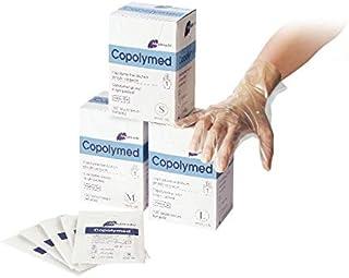 Meditrade 8092L Copolyme Sterile onderzoekshandschoen afzonderlijk verpakt, steril, poedervrij, maat Large (100 stuks)