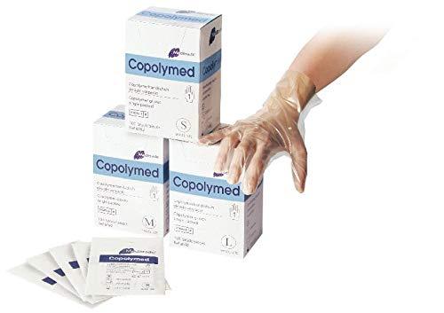 Meditrade 8092L Copolyme Sterile Untersuchungshandschuh einzeln verpackt, Steril, Puderfrei, Größe Large (100-er pack)