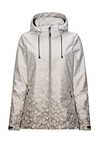 Killtec Damen Softshell Jacke mit Kapuze Weiss NIONA Größe 40 bis 48, Damen Größen:42, Farben:weiß