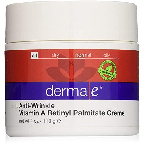 Derma E Anti-Wrinkle Renewal Cream 4 oz ( Pack of 3)