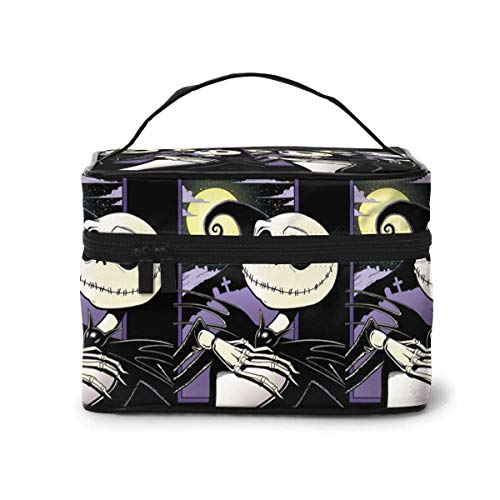 Makeup Bag, Corpse Bride Travel Portable Cosmetic Bag Large Pouch Mesh B Organizer Toiletry Bag for Women Girls