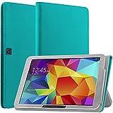 N NEWTOP Coque compatible avec Samsung Galaxy Tab 4 10.1 T530 T533 T531 T535, coque magnétique en...
