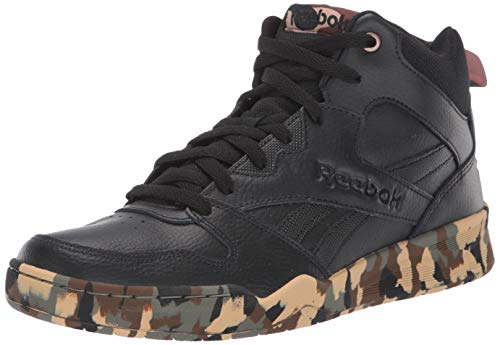 Reebok Men's Royal BB4500 HI2 Basketball Shoe, Black/Black/Camo, 10 M US