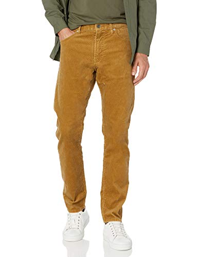 Quiksilver Men's Kracker Cord Pant, Dull Gold, 34