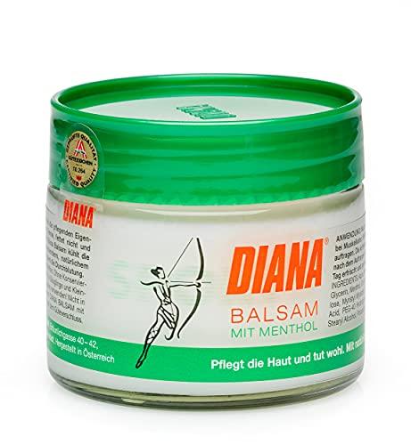 Diana, Sport Balsam Tiegel, Weiß, 125 milliliter