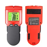 Stud Finder Sensor Wall Scanner,Anzid 5 in 1 Wall Detector with LCD Display and Sound Warning,Beam Stud Finder Center Finding for Wood Live AC Wire Metal Studs Detection