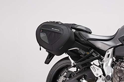 SW-MOTECH BLAZE Satteltaschen-Set, Schwarz/Grau - Yamaha MT-07/ Moto Cage / Tracer