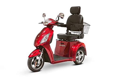 Buy Bargain eWheels Scooter with Electromagnetic Brakes and High Speed in Red