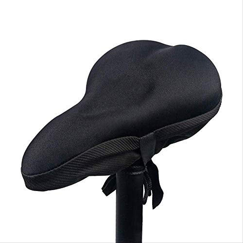 1yess Comfortable Gel Cushion Bicycle Riding Saddle Cover Soft Comfy Butt Pad Mattress Cycling Shock Absorption