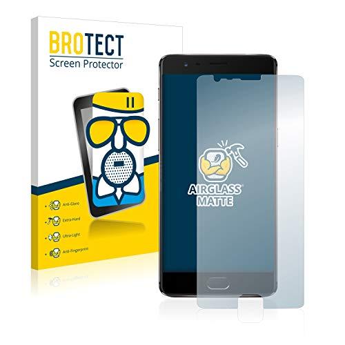 BROTECT Protector Pantalla Cristal Mate Compatible con OnePlus 3T Protector Pantalla Anti-Reflejos...
