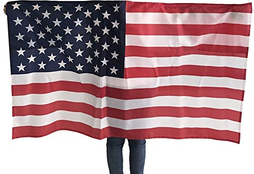 Wearable Wearible American Flag Comic Con Veterans Day 4th of July USA United States 3x5 Flag Halloween Costume Cape America Patriotic Outfit Clothing Clothes