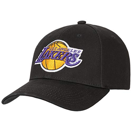 Mitchell & Ness Snapback Cap Los Angeles Lakers Low Pro Team Logo Black