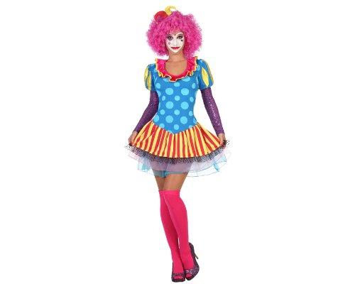 Atosa - 22966 - Costume - Déguisement De Clown Femme - Adulte - Taille 1