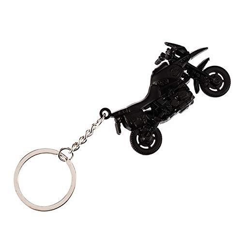 Llavero Sostenedor de la llave de la motocicleta encanto de la cadena del metal del coche de Keychain mujeres de los hombres del anillo de la llave del coche del coche de la empresa Clave joyería mejo