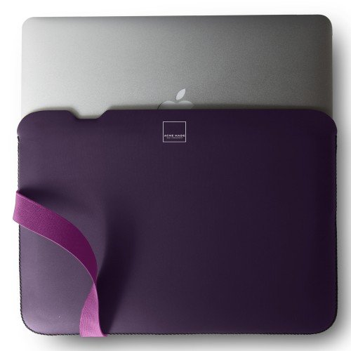 Acme Made Laptop Case / The Skinny Sleeve for 11' MacBook Air Laptop in Purple/Pink color