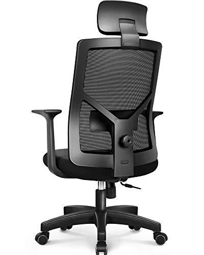 NEO CHAIR Office Chair Computer Desk Chair - Bulk Business Ergonomic Mid Back Cushion Lumbar Support Wheels Comfortable Black Mesh Racing Seat Adjustable Swivel Rolling Executive