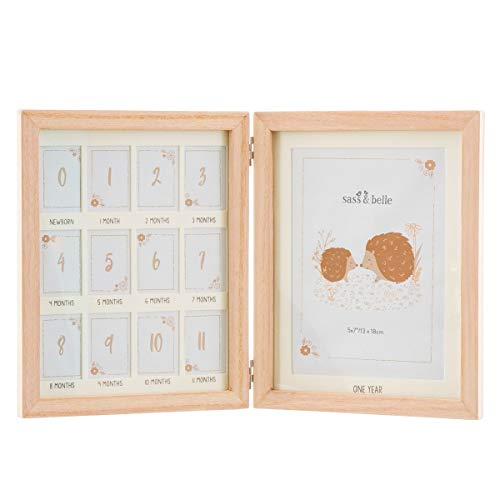 Sass & Belle Woodland Baby First Year Multi Photo Frame