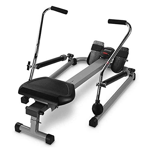 CCDV Full Motion Rowing Machine Rower, Magnetic Rowing Machine Rower for Home Exercise Digital Monitor,350 lb Weight Capacity