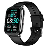Helalife Smart Watch 1.69 Inch Color Touch Screen, Body Temperature Monitor Fitness Tracker Watches for Women Men, Fitness Watch Heart Rate Monitor Waterproof Watches with Step Calories Sleep Tracker
