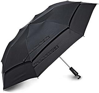 Samsonite Windguard Auto Open Umbrella, Black, One Size