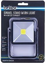 Brillar BR0038-BLACK BR0038-BLACK Swivel Stand Work Light with COB LED Technology Portable Light Adjustable Stand 360 Degr...