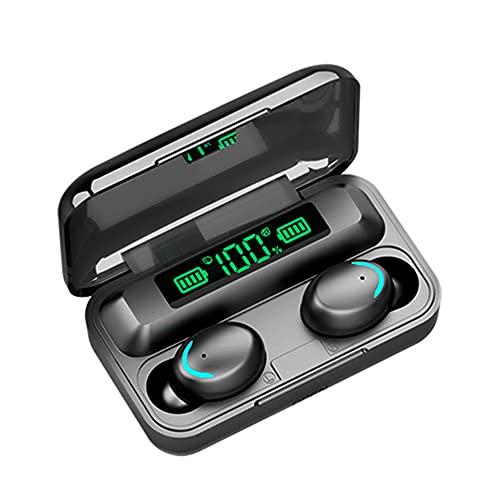 F9-5 TWS BT Auriculares inalámbricos Control táctil Auriculares con sonido de alta fidelidad 8D Auriculares con cancelación de ruido HD Binaural Call con 1200mAh Estuche de carga magnética Pantalla