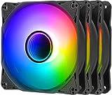 Antec Ventiladores RGB, ventilador de caja de 120 mm, ventiladores RGB para PC, serie Infinity 3 paquetes