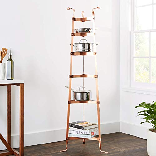 Old Dutch 60-Inch Cookware Stand, Copper