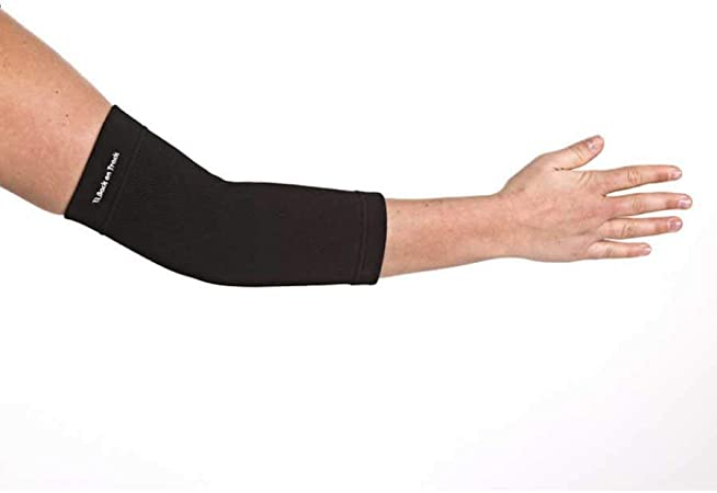 Details about  /Large Back On Track Pain Relief Therepy Soothing Warmth Elbow Brace Band Black U