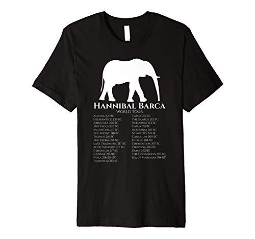 Hannibal Barca World Tour History Of Rome & Carthage Shirt