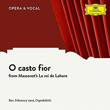Massenet: Le roi de Lahore: O casto fior (Sung in Italian)