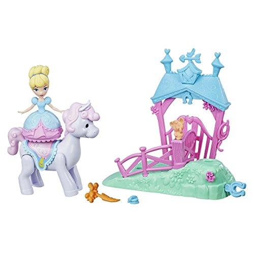 Disney prinsessen – bewegingen magische liefdespop – Cinderella en zijn paard, e0249