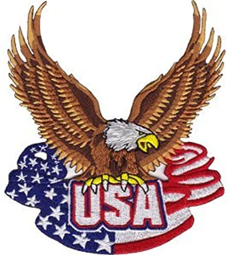 Application DSX USA Flag with Eagle Patch by Application