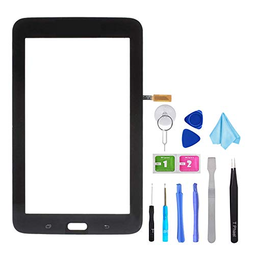 Tefir Negro Pantalla táctil de Cristal para Samsung Galaxy Tab 3 Lite SM-T113 T113 7.0