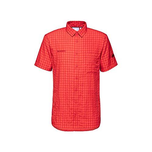Mammut Herren Kurzarm-hemd Lenni, rot, XL