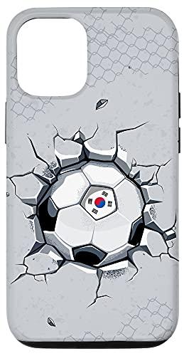 iPhone 12/12 Pro South Korea Soccer Fans Jersey Korean Football Cracked Wall Case
