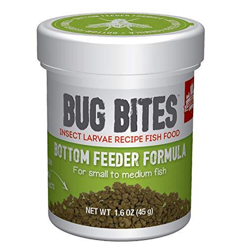 Fluval Bug Bites Aliment Complet pour Poissons mangeurs au Fond Taille S-M 45 g