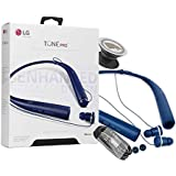 LG Tone Pro HBS-780 Matte Blue Bluetooth Wireless Stereo Headset with Phone Griper Stand (Retail Packing)
