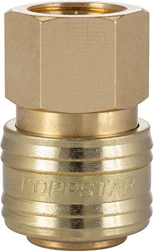 Poppstar Attacco Rapido per Aria Compressa DN 7,2 con Filettatura Interna da 3/8 Pollici