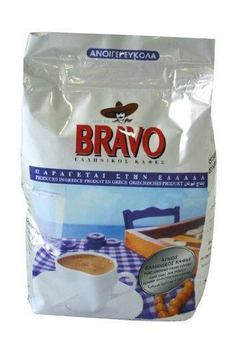 Bravo Griech. Kaffee, gemahlen, 3er Pack (3 x 100 g Packung)