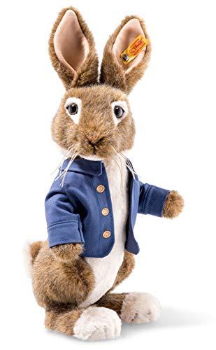 Steiff 355240 Peter Rabbit 30 cm braun/beige 3-Fach gegliedert (Arme und Kopf) stehend