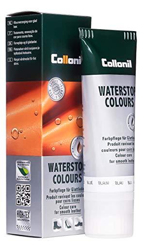 Collonil Waterstop 33030001008 Schuhcreme Glattleder 75 ml (0), Blau, Einheitsgröße