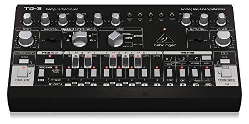 Behringer TD-3-BK Analog Bass Line Synthesizer - Black