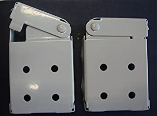 Amazing Drapery Hardware Low Profile Mounting Brackets for Faux & Wood Horizontal Blinds (1 Pair)