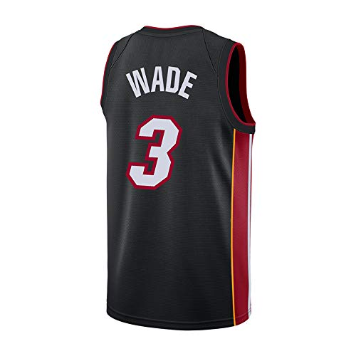 Ddesh Mens Wade Jerseys 3 Black (Black, Small)